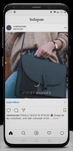 iPhone X Violet Hamden Insta Vid01