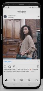 iPhone X Violet Hamden Insta Vid02