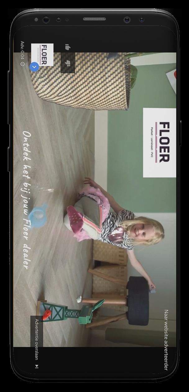 iPhone X YT Floer Ad liggend_V