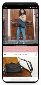 iPhone X Violet Hamden FB Tas collectie 2